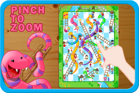 Screenshot Snakes and Ladders Game LITE
